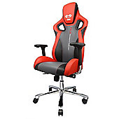 E-Blue Cobra-X PC Metal Gaming Black / Red / Grey Chair