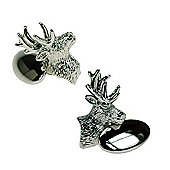 Stags Head Novelty Themed Chain link Cufflinks