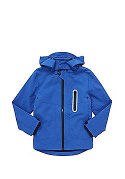 F&F Lightweight Hooded Mac - Blue