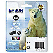 Epson Polar Bear 26XL Photo Black Claria Premium Ink Cartridge