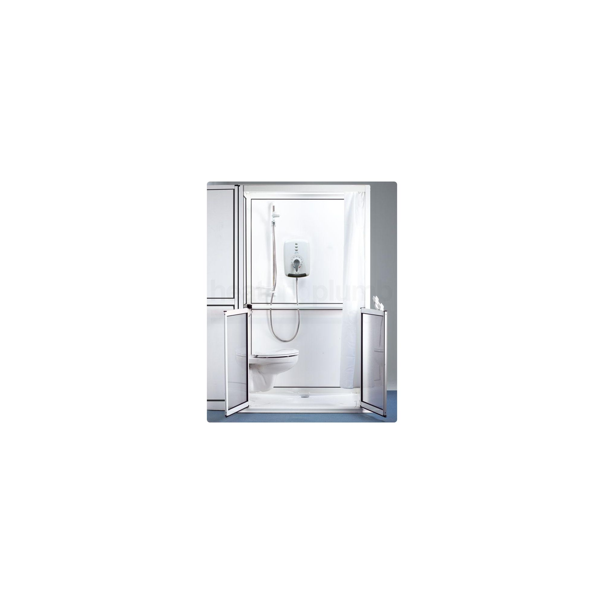 AKW ShowerLoo Shower Cubicle 1200mm x 800mm at Tesco Direct