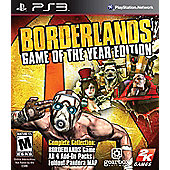 Borderlands - Game of the Year Edition (GOTY) - PS3
