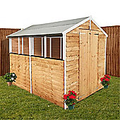 BillyOh 400 8 x 6 Overlap Apex Garden Shed