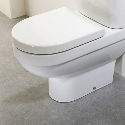 Tavistock Venus Soft Close Toilet Seat in White