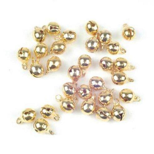Jewellery Bells - 6mm Gilt
