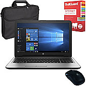 "HP 250 G5 - X0Q13EA#ABU - 15.6"" Laptop Intel Core i7-6500U With Internet Security, Case & Mouse"