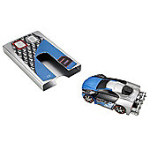 RC Stealth Rides - Blue Racing Car C2 - T6030 - Mattel