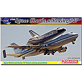 Dragon 14705 Space Shuttle W/747-100Sca 1:144 Model Kit