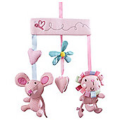 Clair de Lune Lottie & Squeek Musical Baby Mobile