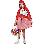 Child Red Riding Hood Girl Costume Large