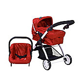 Britax Smile 3-in-1 Dolls Travel System (Chilli Pepper)