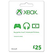 Xbox Gift Card FPP English UK 25 GBP