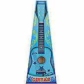 "Toyrific 23"" Wooden Guitar Blue"