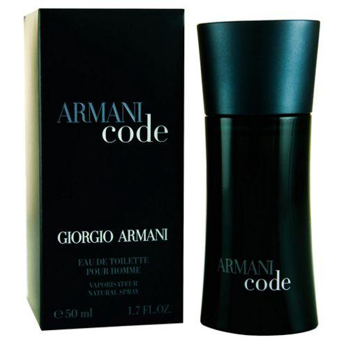 Armani Code M Eau De Toilette 50Ml Spray For Men By Giorgio Armani