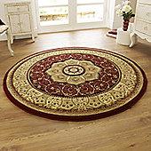 Oriental Carpets & Rugs Heritage 4400 Red Rug