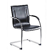 Teknik Office Guest Contemporary Cantilever Reception Chair