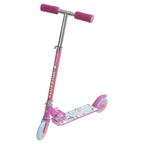 Hello Kitty 2-Wheel Folding Inline Scooter