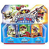 Skylanders Trap Team Triple Pack - Chopper, Funny Bone, & Shroombroom