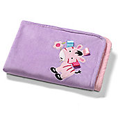 Baby Blanket- Purple Zebra