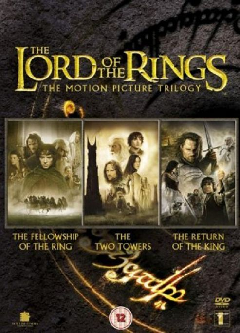 The Lord Of The Rings: The Motion Picture Trilogy (DVD Boxset)