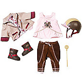 Baby Born Deluxe Riding Set