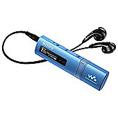 Sony NWZB183 4GB Blue MP3 Player USB Style