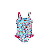 Zoggs Flower Power Swimsuit - Multi