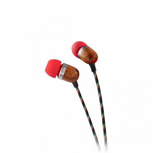 Marley Smile Jamaica Earphones No Microphone (Fire)