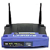 Wireless Access Point Router w/ 4-Port Switch 802.11g and Linux