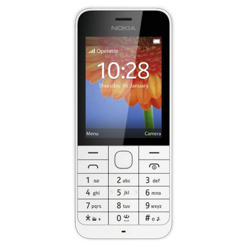 Tesco Mobile Nokia 220 White
