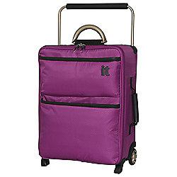 IT Luggage World's Lightest 2-Wheel Suitcase, Dahlia Mauve Small