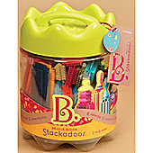 B. Toys Stackadoos Bristle Blocks