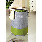 Wenko Felt Pop-Up Laundry Bag