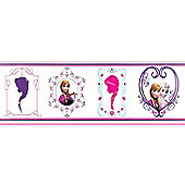 Disney Frozen Wallpaper Border - Frames