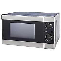 Tesco Solo Microwave 17L - Black and Silver