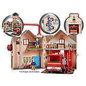 Fireman Sam Deluxe Fire Station Playset Character Toys