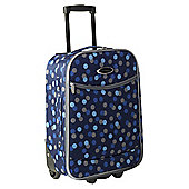 Constellation 2-Wheel Suitcase, Blue Dots Small