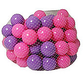 100 Pink and Purple Play Balls