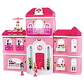 Mega Bloks Barbie Build N Style Mansion