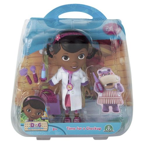 Doc McStuffins Time for your Check-up Doctor 12.5cm Doll with Accessories