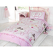 Rapport Kidz Love To Dance Quilt Set Single