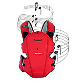 Bebemon X-Music Baby Carrier - Intense Red