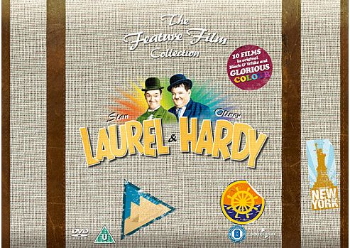 Laurel And Hardy Feature Film Collection (DVD Boxset)