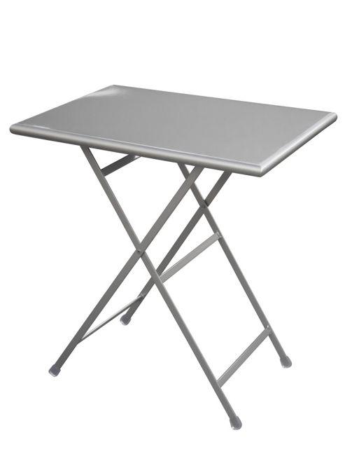 emu Arc En Ciel 70cm Folding Rectangular Table - Aluminium