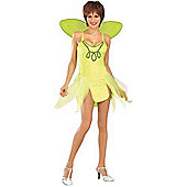Rubies Fancy Dress Costume - Tinkerbell Costume - Adult Standard - Fits up to UK Dress Size 12