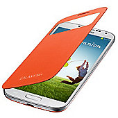 Samsung Original Galaxy S4 S-View Cover Orange