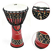 "Toca 10"" Bali Red Synergy Djembe Drum"