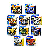 Set of ten random Hot Wheels cars