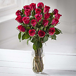 Simply Roses Cerise Bouquet