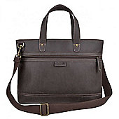 TLL002 Troop London Faux Leather Messenger Bag